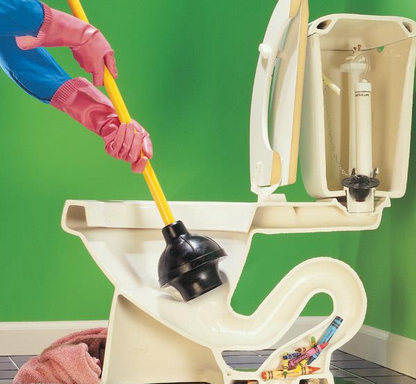 kako otpušiti wc šolju
